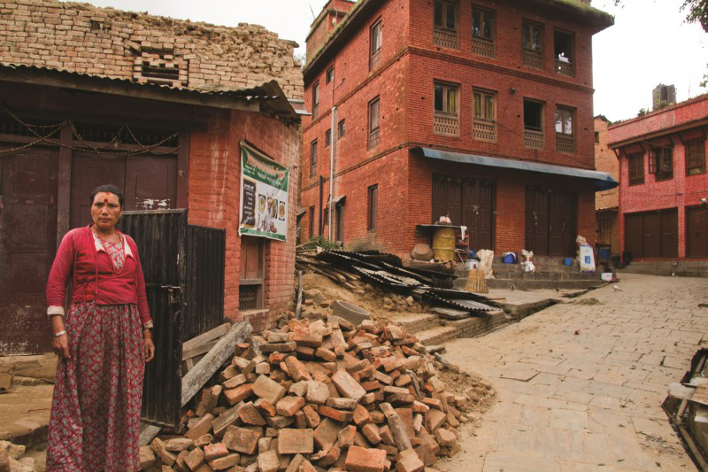 Nepalese earthquake
