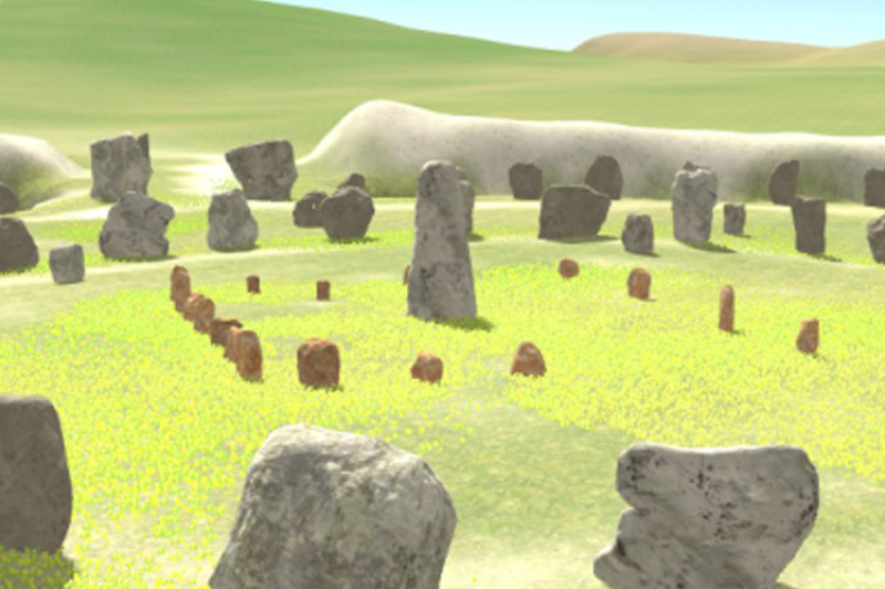 Virtual Avebury visualisation